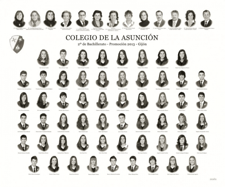 Orla de Bachillerato del Colegio de la Asunción de Gijón.