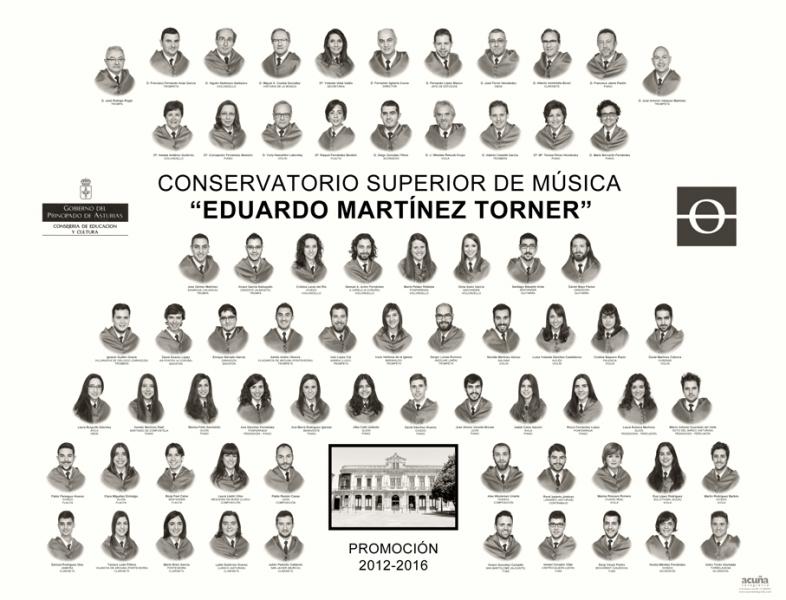 """Orla del Conservatorio Superior de Música de Oviedo """"Eduardo Martínez Torner"""""""