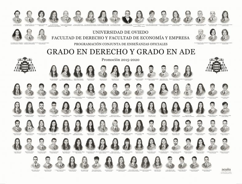 Orla del Doble Grado en Administración y Dirección de Empresas de la Universidad de Oviedo