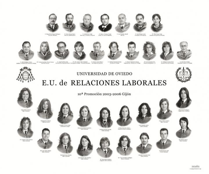 Orla de Relaciones Laborales de la Facultad de Economia y Empresa de la Unviersidad de Oviedo