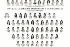 Orla de la Licenciatura en Economía de la Facultad de Economía y Empresa de la Universidad de Oviedo