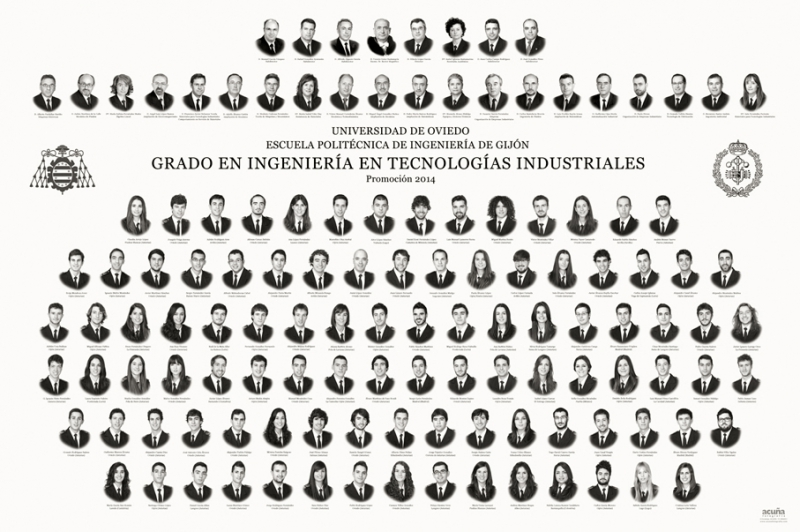 Orla del Grado en de la Escuela Politécnica de Ingeniería de Gijón E.P.I.
