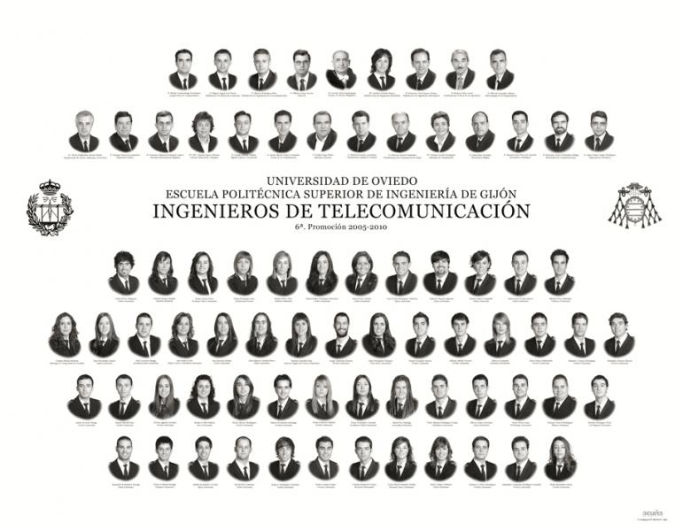 Orla de Ingenieros de Telecomunicación de la Escuela Politécnica de Ingeniería de Gijón E.P.I.