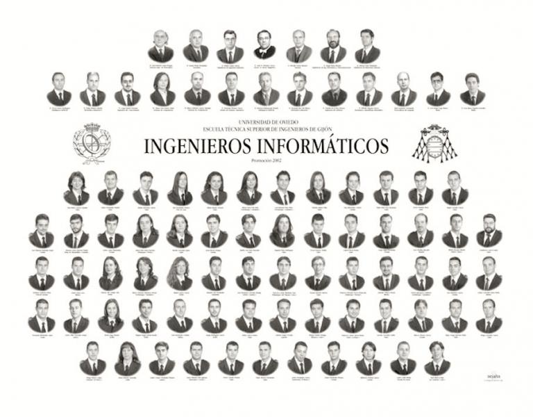 Orla de de la Escuela Politécnica de Ingeniería de Gijón E.P.I.