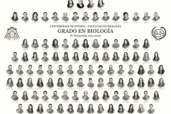 Orla del Grado en Biología de la Universidad de Oviedo