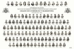 """Orla del Grado en Comercio y Marketing de la Facultad de Comercio, Turismo y Ciencias Sociales """"Jovelanos"""" Gijón - Promoción 2016"""