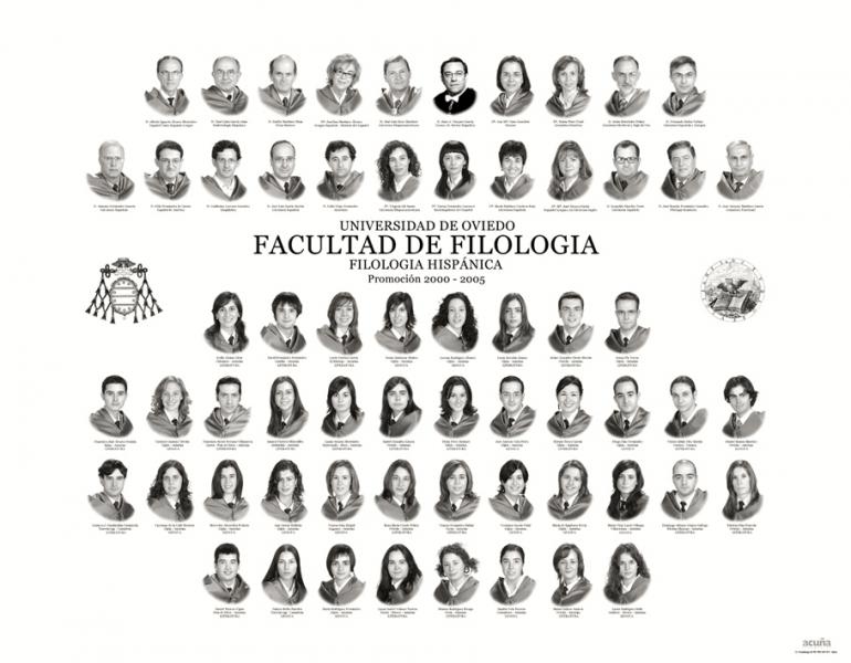 Orla de Filología Hispánica de la Facultad de Filosofia y Letras de la Universidad de Oviedode