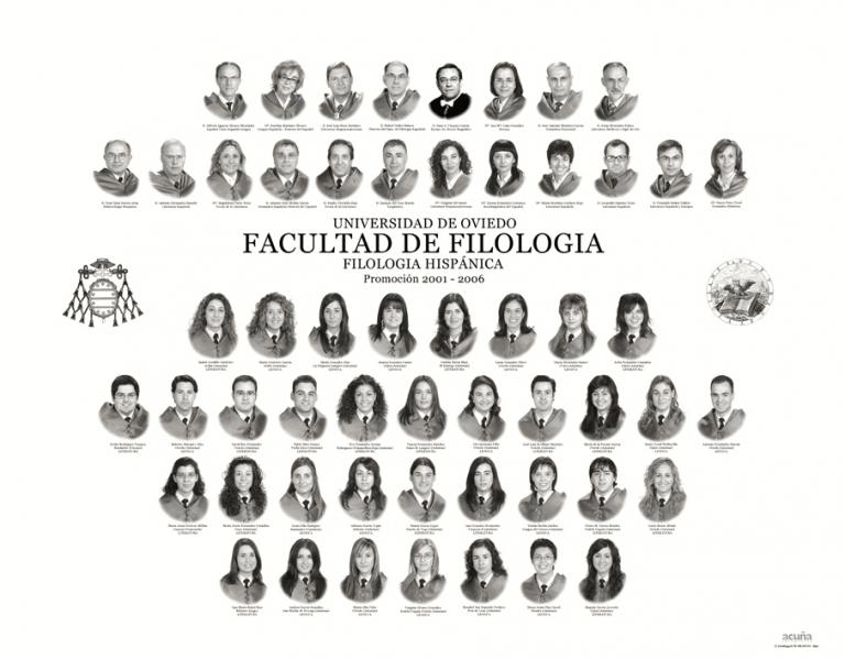 Orla de Filología Hispánica de la Facultad de Filosofia y Letras de la Universidad de Oviedo