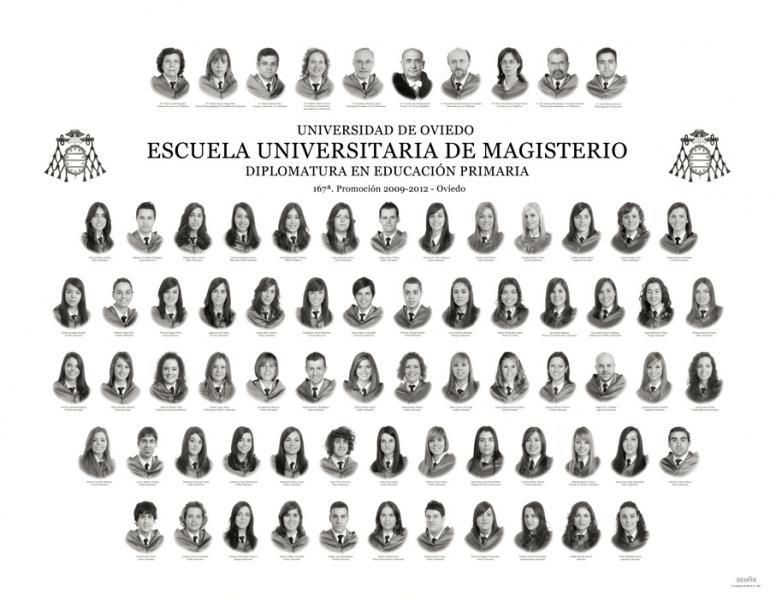 Orla de la Diplomatura en Educación Primaria de la Facultad de Formación del Profesorado y Educación de la Universidad de Oviedo
