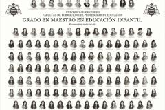 Orla del Grado en Educación Infantil de la Facultad de Formación del Profesorado y Educación de la Universidad de Oviedo