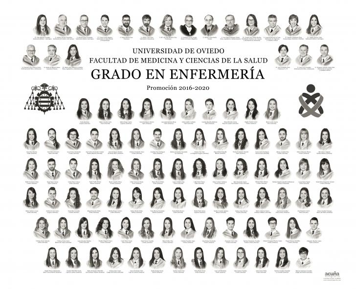 Orla del Grado en Enfermeria de la Facultad de Medicina y Ciencias de la Salud de la Universidad de Oviedo