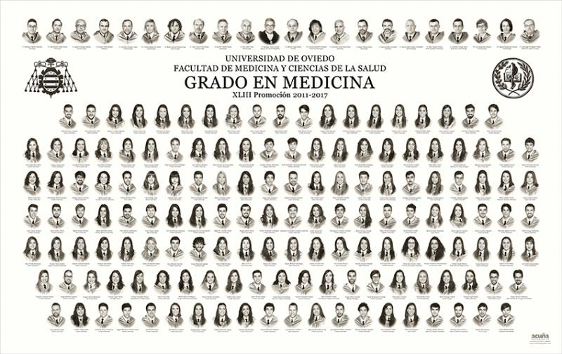 Orla del Grado en Medicina de la Facultad de Medicina y Ciencias de la Salud de la Universidad de Oviedo