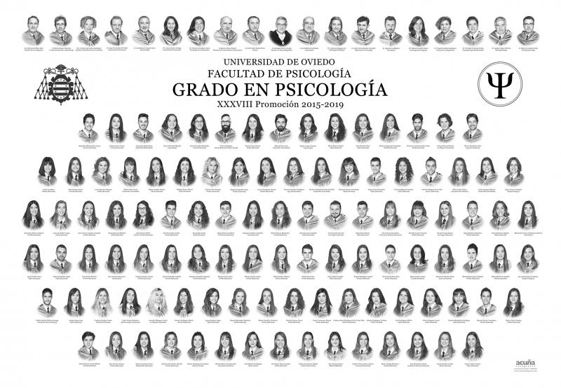 Orla del Grado en Psicología de la Universidad de Oviedo