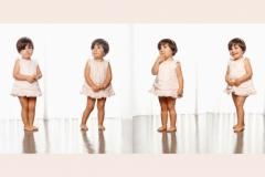 Niños composición de varias fotos