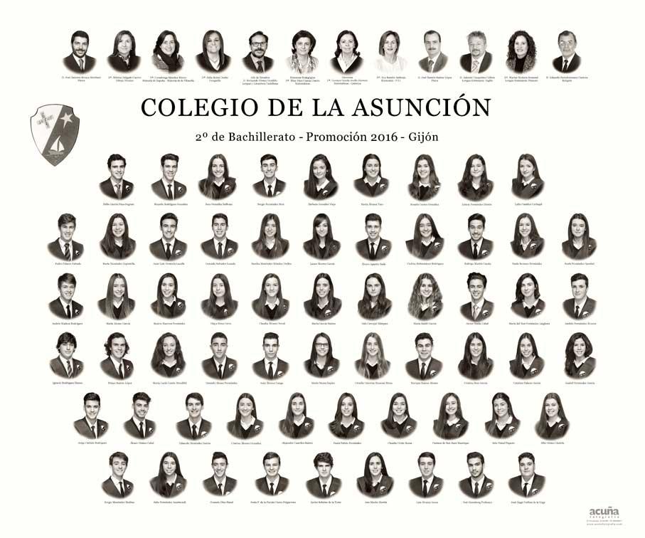 Orla del Colegio de la Asunción de Gijón 2016