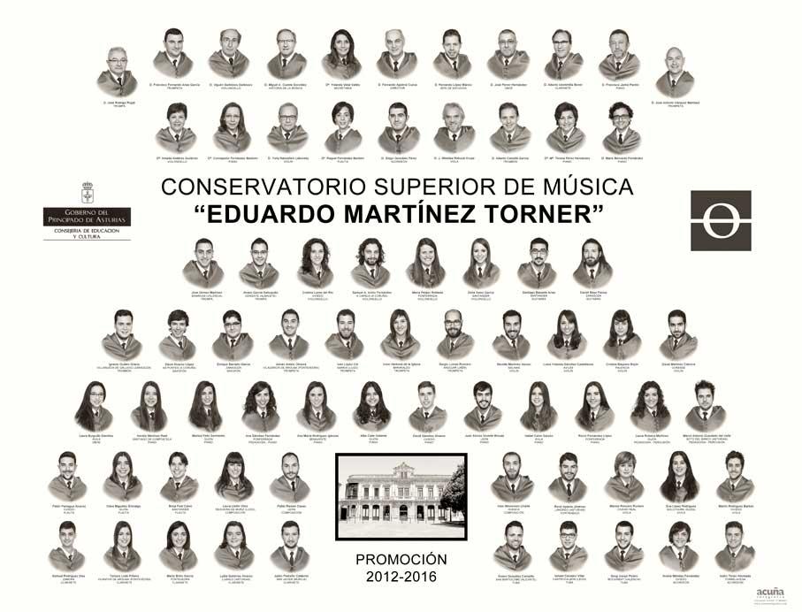 """Orla del Conservatorio de Musica de Oviedo """"Eduardo Martínez Torner"""""""