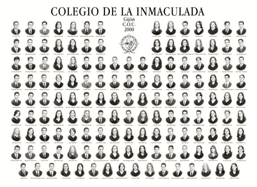 Orla de C.O.U del Colegio de la Inmaculada de Gijón.