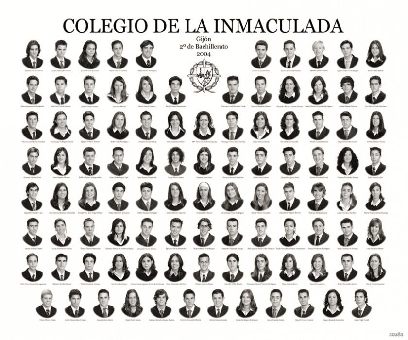 Orla de Bachillerato del Colegio de la Inmaculada de Gijón.