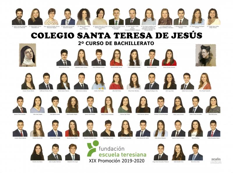 Orla de Bachillerato del Colegio Santa Teresa de Jesús de Oviedo Promoción 2020