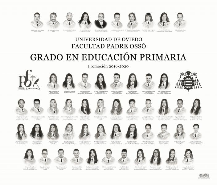 Orla del Grado de Educación Primaria de la Facultad Padre Ossó de Oviedo