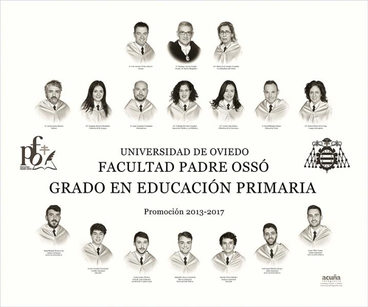 Orla del Grado de Primaria de la Facultad Padre Ossó de Oviedo