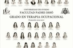 Orla del Grado de Terapia Ocupacional de la Facultad Padre Ossó de Oviedo