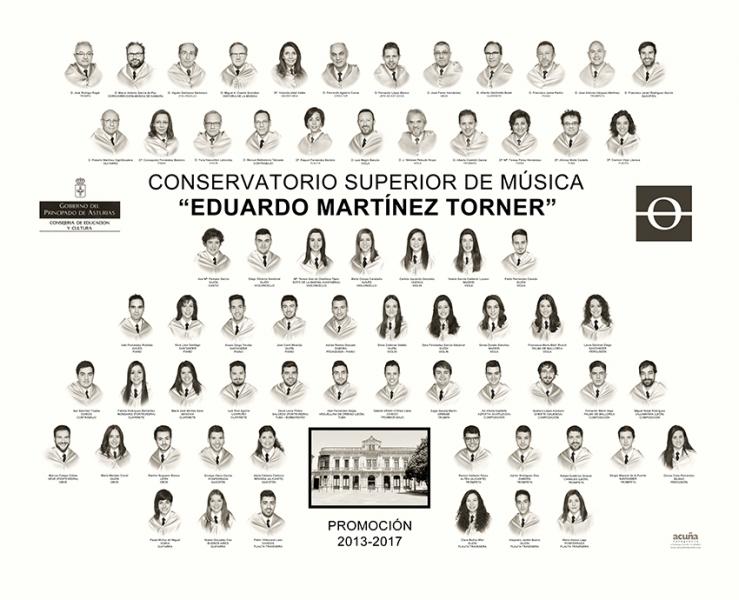 Orla Conservatorio Eduardo Martinez Torner de Oviedo