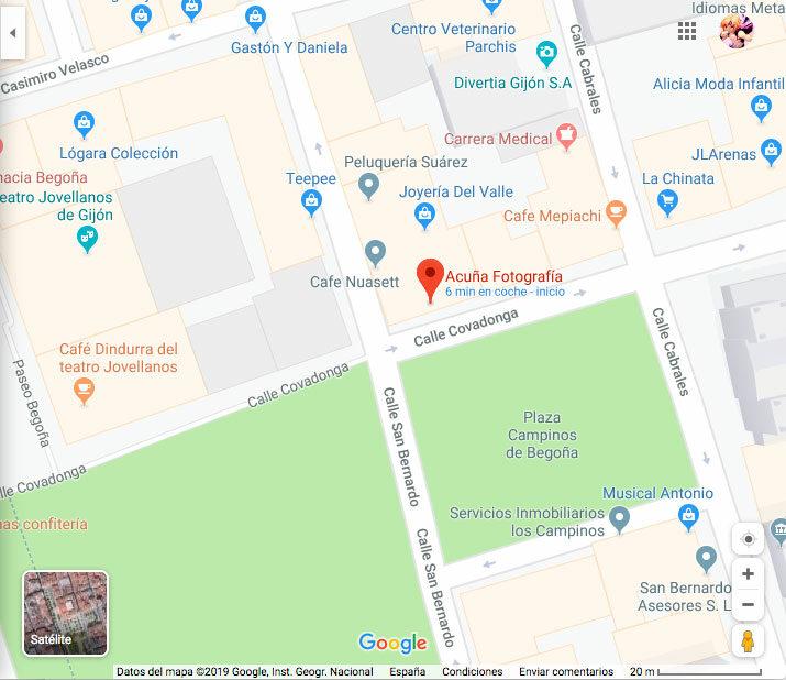 Acuña Fotografía en Maps